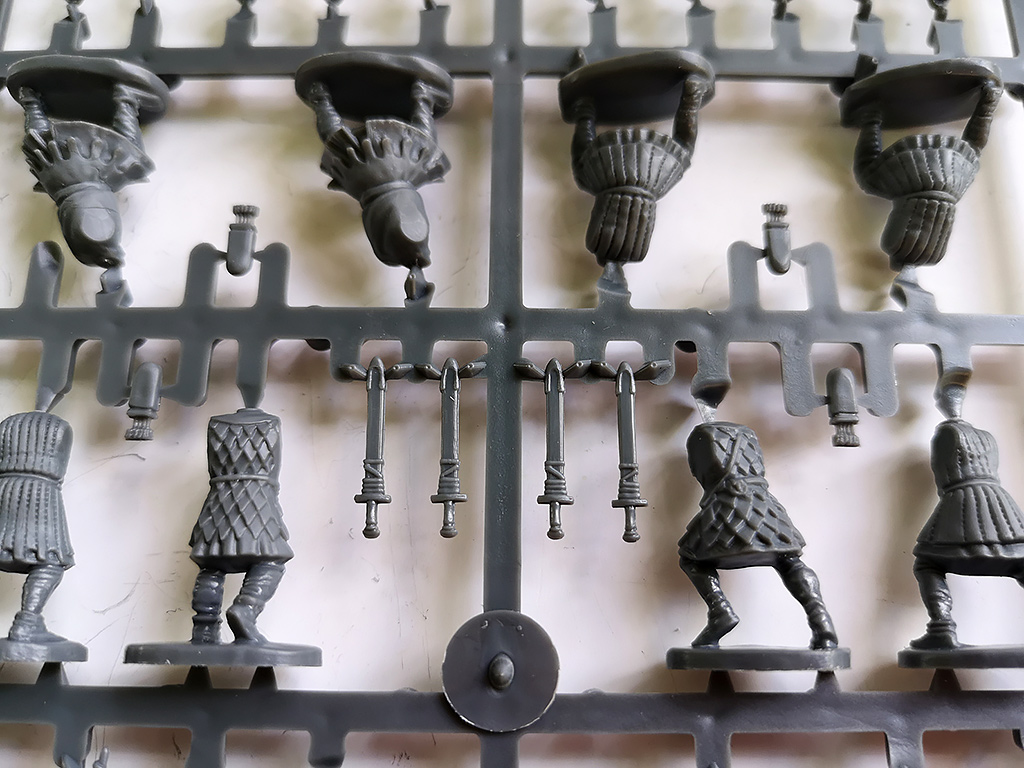 Foot Sergeant Figure Backs