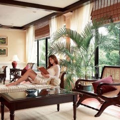 Tropical Living Room In Malaysia Wall Decorations Want To Beat The Heat? Try Home Decor British ...