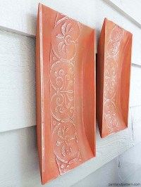 Stencil How to: Replicate Aged Terracotta Wall Art | Paint ...