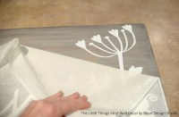 Easy DIY Wall Art with Plywood and Vinyl   Paint + Pattern