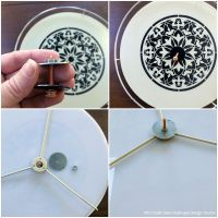Stenciled Arabian Nights Pendant Light | Paint + Pattern