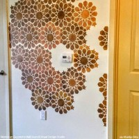 handpainted moroccan designs wall stencils   Paint + Pattern