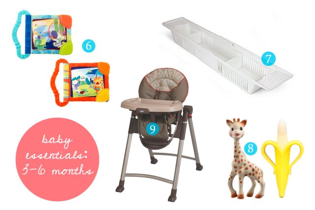 baby essentials 3-6 months