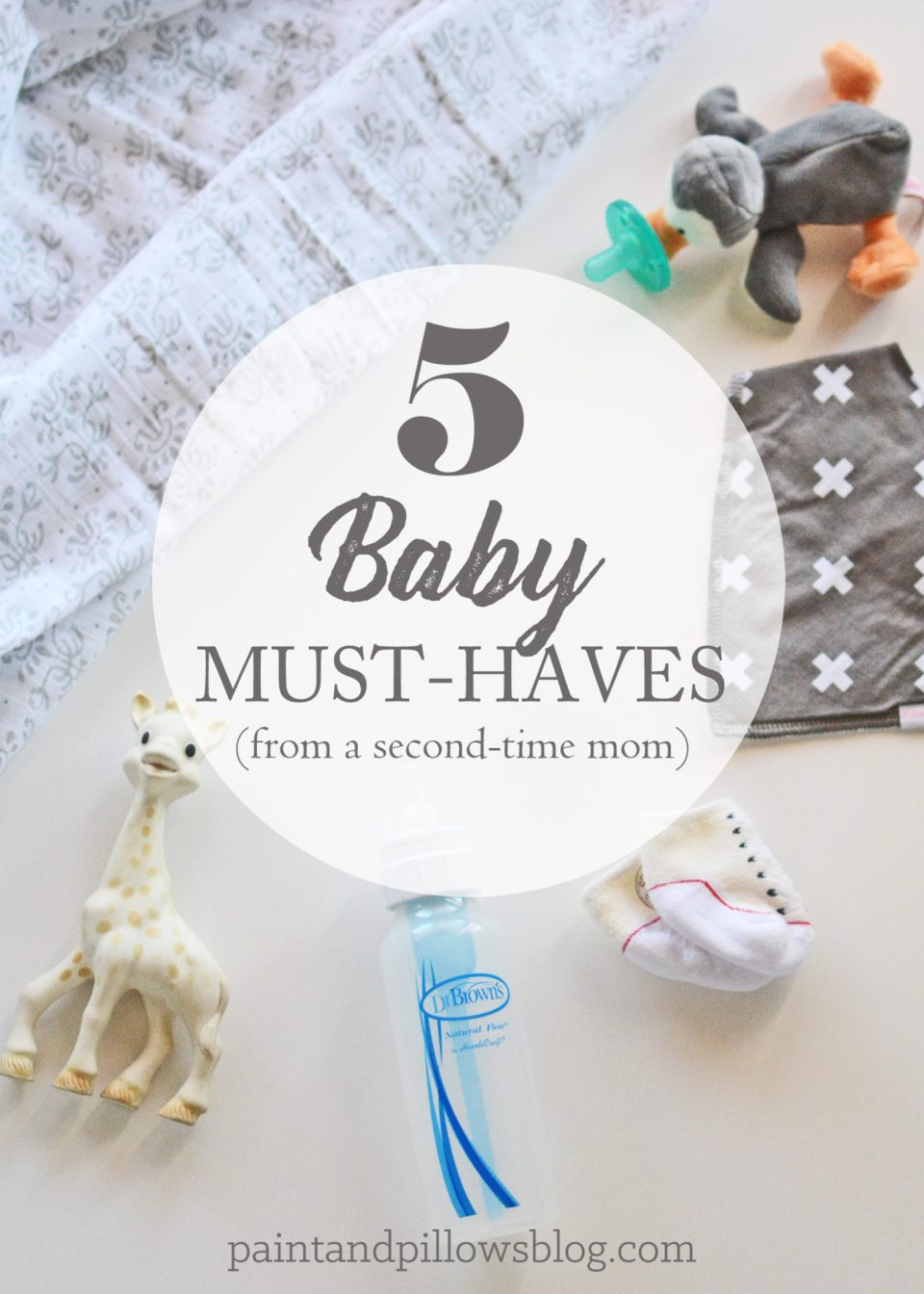Top 5 Baby Must-Haves (From a Second-Time Mom)