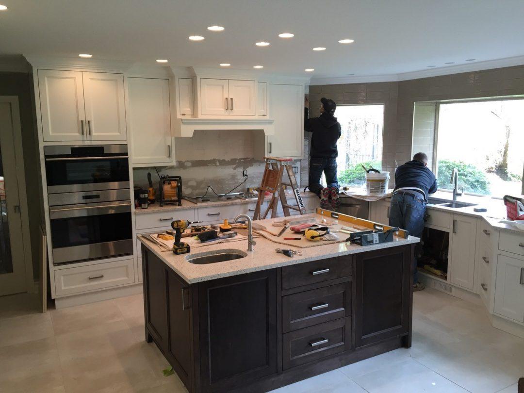 custom kitchen american standard quince faucet ᐅ workmanship surrey mc paint reno renovation wokmanship