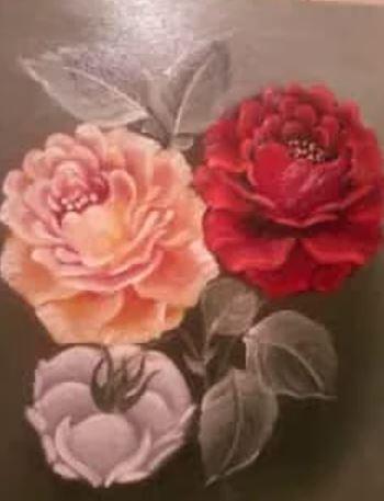 لوحات رسم جميلة وبسيطة من الطبيعة