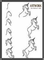تعليم الرسم للاطفال والمبتدئين رسم حصان