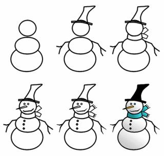 رسم كيوت للاطفال