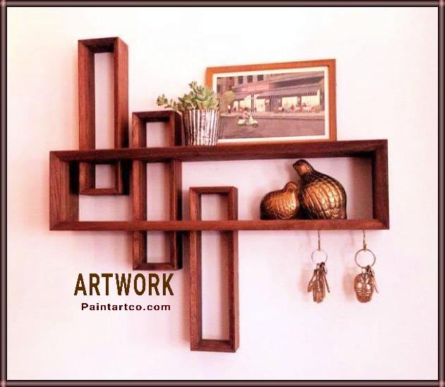 ديكور منازل خشبية وافكار سهله وبسيطة بالخشب للمنزل ديكورات واشغال يدوية