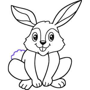 رسم ارنب 2 كيف ارسم ارنب للاطفال