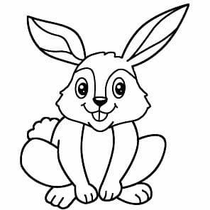 كيف ارسم ارنب للاطفال