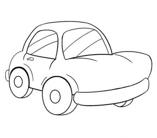 رسم سيارات سهلة