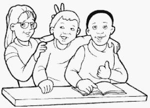 رسومات تعليمية للاطفال للتلوين للمدرسة