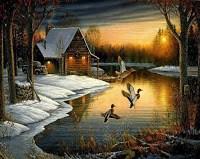 لوحات فنية جميلة وبسيطة رائعة