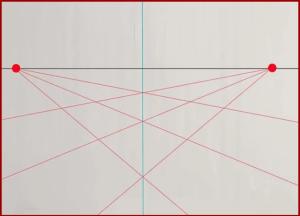 رسم ثلاثي الابعاد مربعات بالرصاص