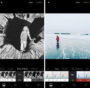 برنامج VSCO برامج تصميم الصور للايفون