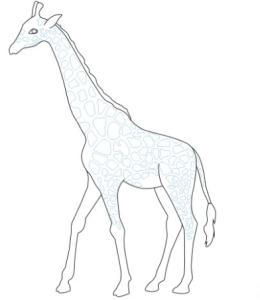 طرق رسم الزرافة للأطفال