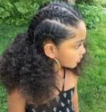 تسريحات شعر مجعد 2020