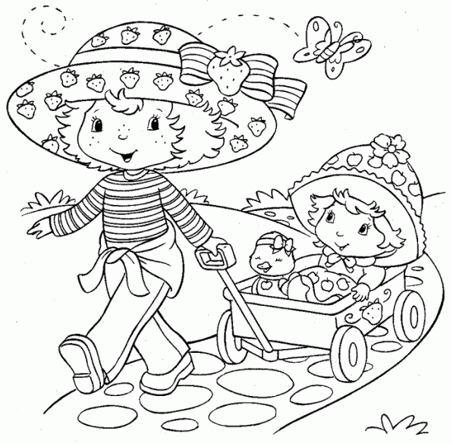 رسومات أطفال كيوت سهلة للبنات