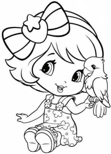 صور رسوم اطفال سهلة ومفرغة من الأشكال الكرتونية
