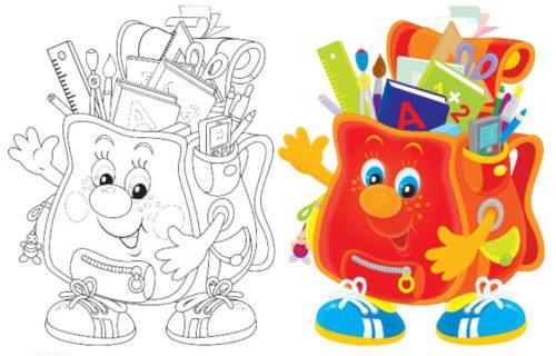 رسومات ملونة لتعليم التلوين للاطفال بسهولة