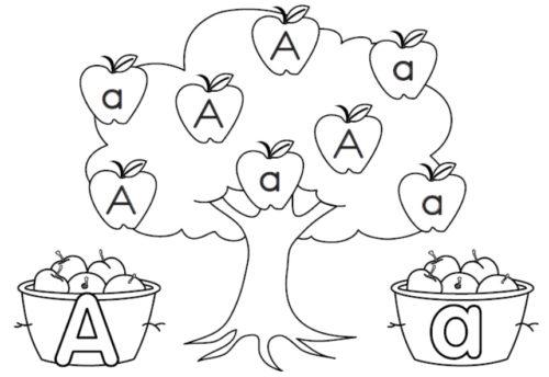 صورة ورقة عمل تعليمية للتلوين