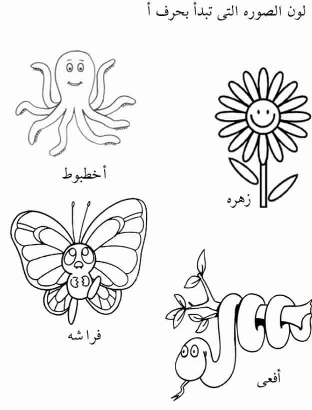تعليم الحروف العربيه للاطفال