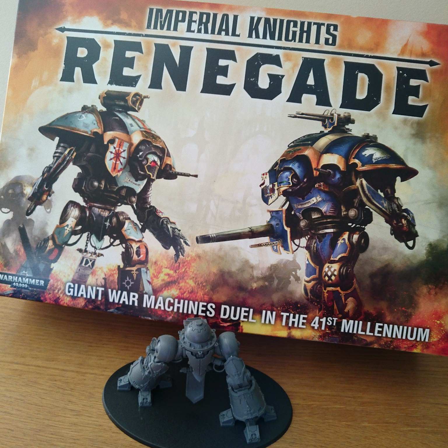 Imperial Knights Renegade Paint At Dawn