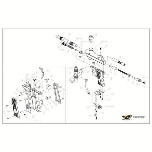 JT USA Tetra Gun Diagram
