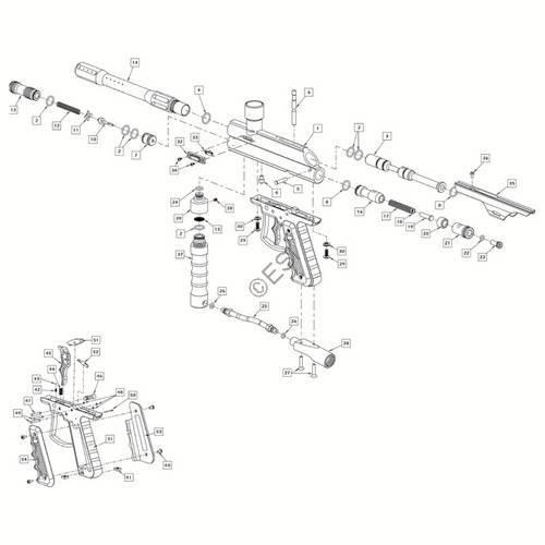 ViewLoader Genesis II Gun Diagram