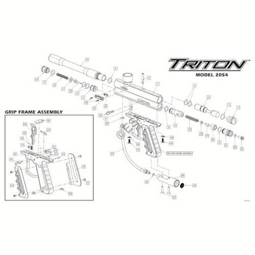 ViewLoader Triton I Gun Diagram