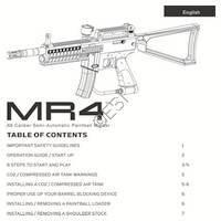 Kingman Spyder Imagine Gun Manual