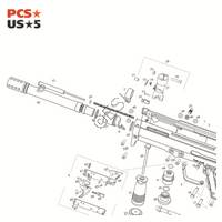 PMI Piranha Eforce EXT Pro Gun Diagram