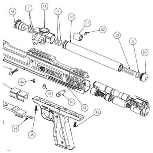 Empire BT SA-17 Gun Diagram