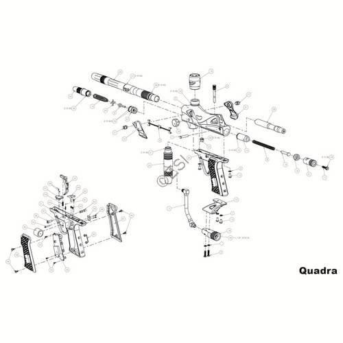JT USA Quadra EV Gun Diagram