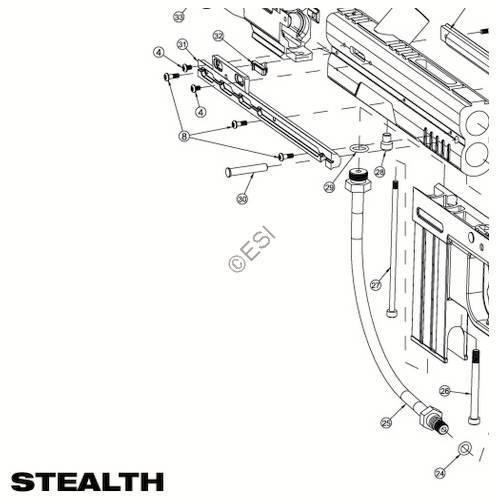 JT USA Stealth Gun Diagram