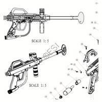 JT USA Tac 5 Recon Gun Diagram