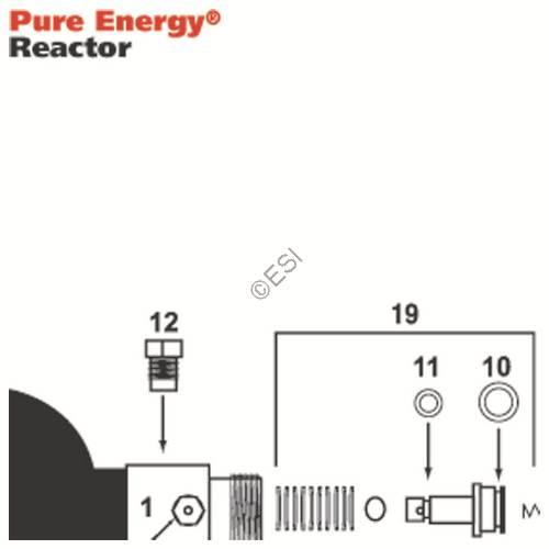 Pure Energy Reactor Regulator Diagram