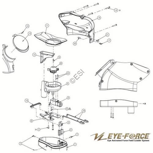 ViewLoader Eye Force Hopper Diagram