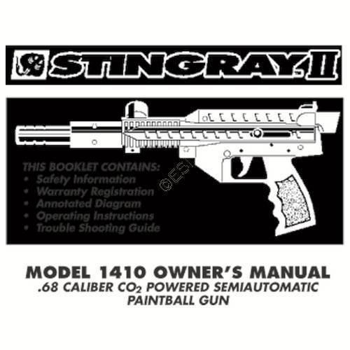 brass eagle stingray gun