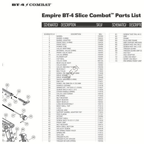 Empire BT 4 Gun Slice Diagram