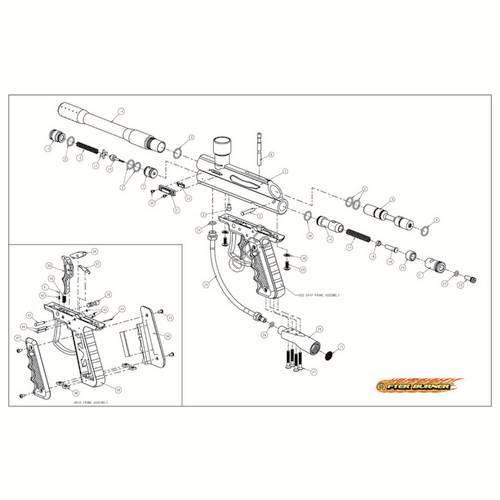 Brass Eagle Afterburner Gun Diagram