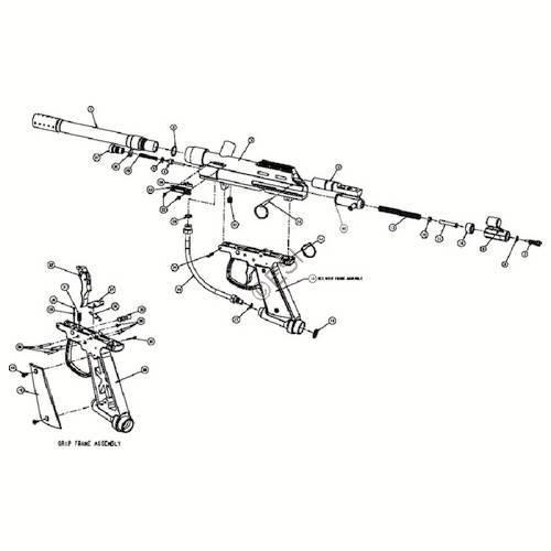 Brass Eagle Marauder Gun Diagram