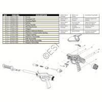 Brass Eagle Avenger 1 Gun Diagram