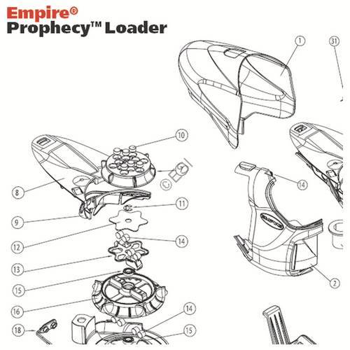 Empire Prophecy Hopper Diagram