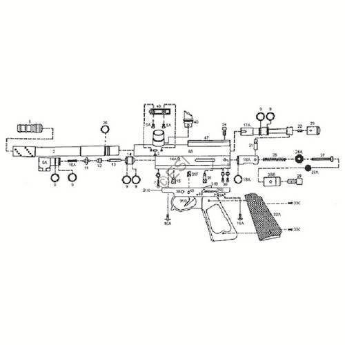 Kingman Spyder Compact P Gun Diagram