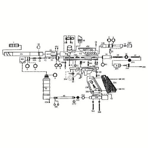 sku kingman spyder compact a gun diagram