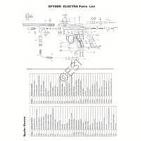 Kingman Spyder Sonix Gun Diagram
