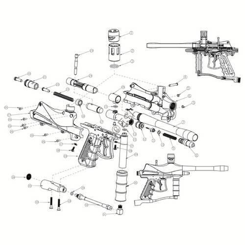 Stryker STR-1 Gun Diagram