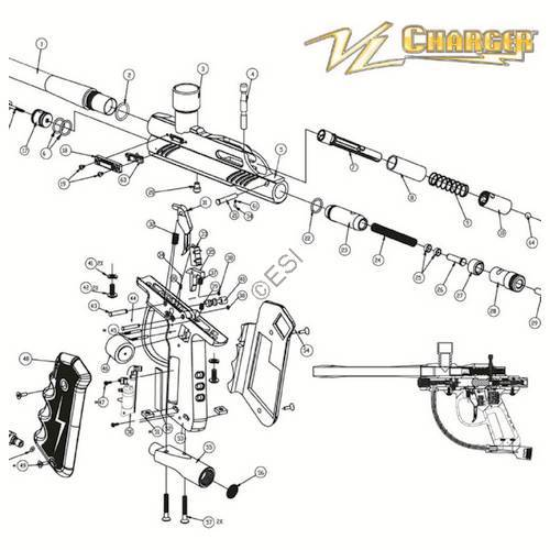 ViewLoader Charge Gun Diagram